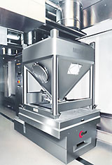 Automatic Weighing System on Automatic Guided Vehicle (FTS)