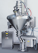 Attached Glatt  GS 180 SC SuperClean® sieve in contained system